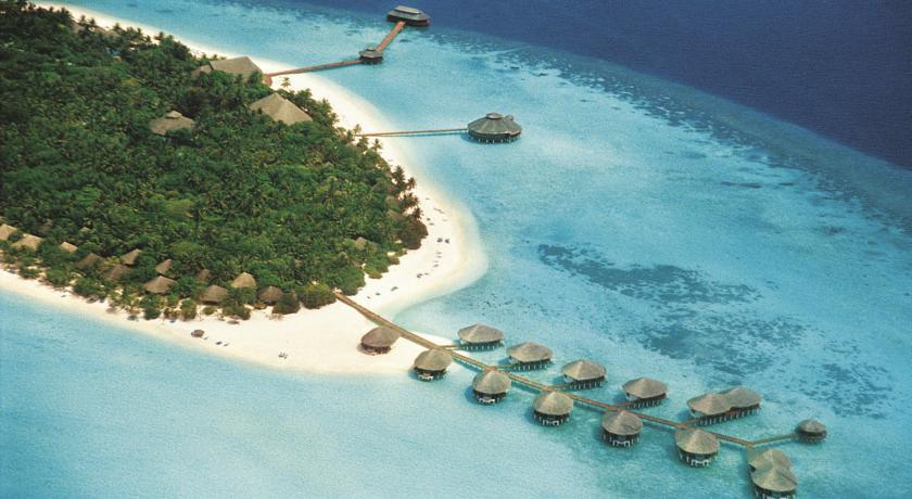 Gangehi Island Resort Drone
