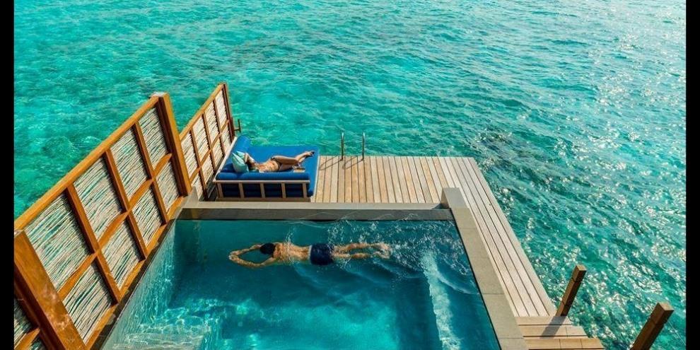 Angsana Velavaru Maldives - infinity pool