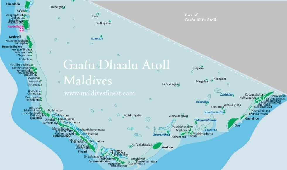 Maldives On A World Map.Maldives Map With Resorts Airports And Local Islands 2019