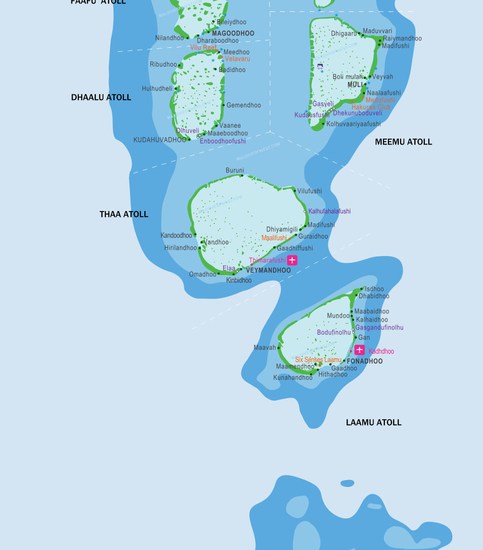 maldives location