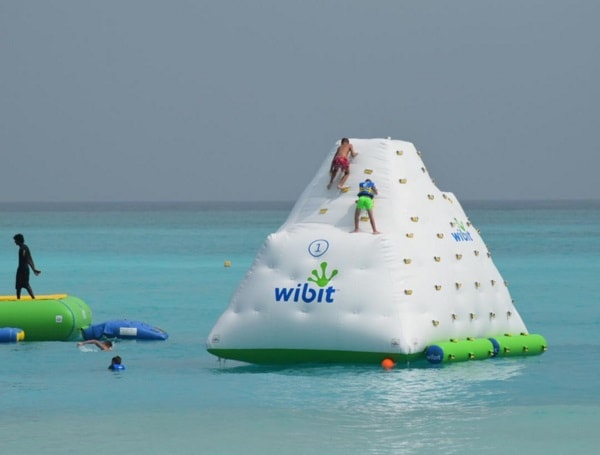 water park ice tower