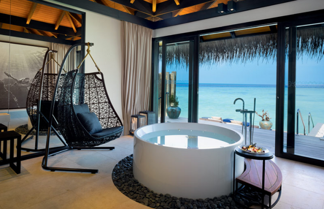 sunrise pool villa bathroom