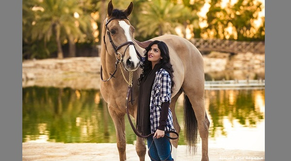 ameerah with horse