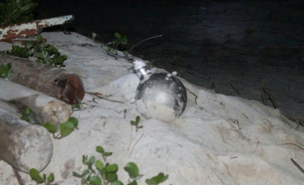 bomb in maldives