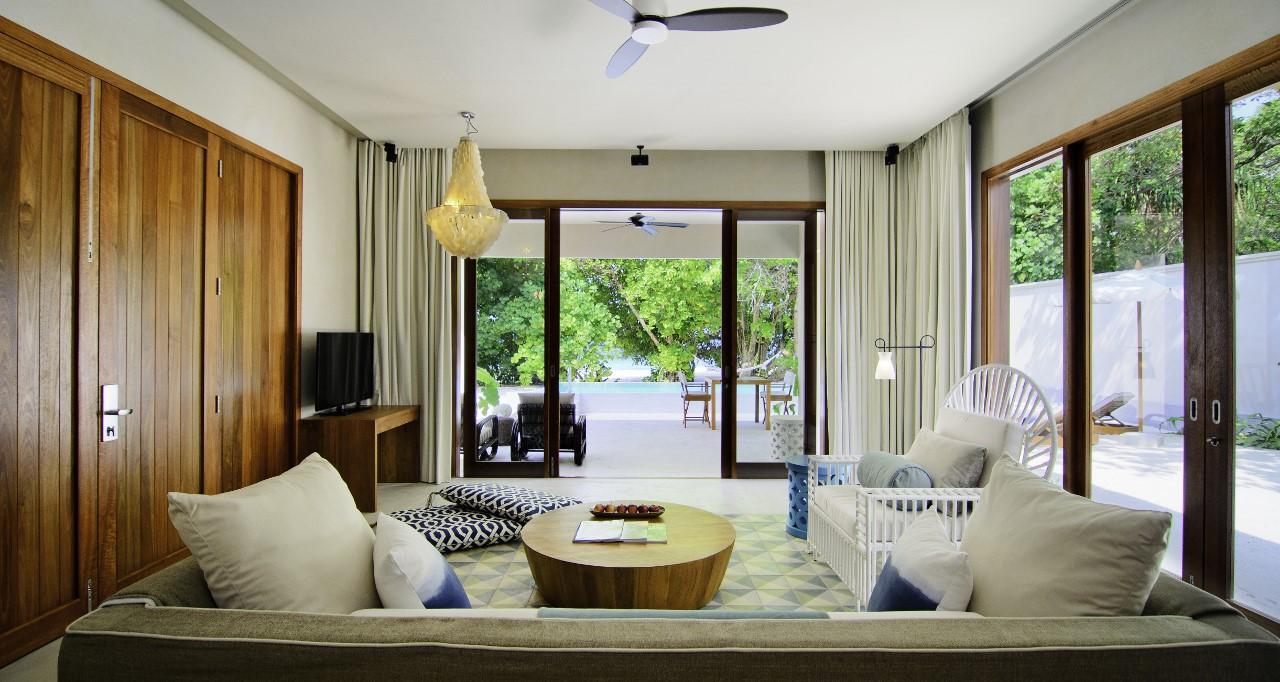 amilla fushi beach house