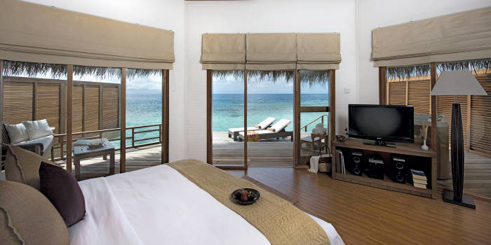Kuramathi Island Resort Water Villa Pictures And Info
