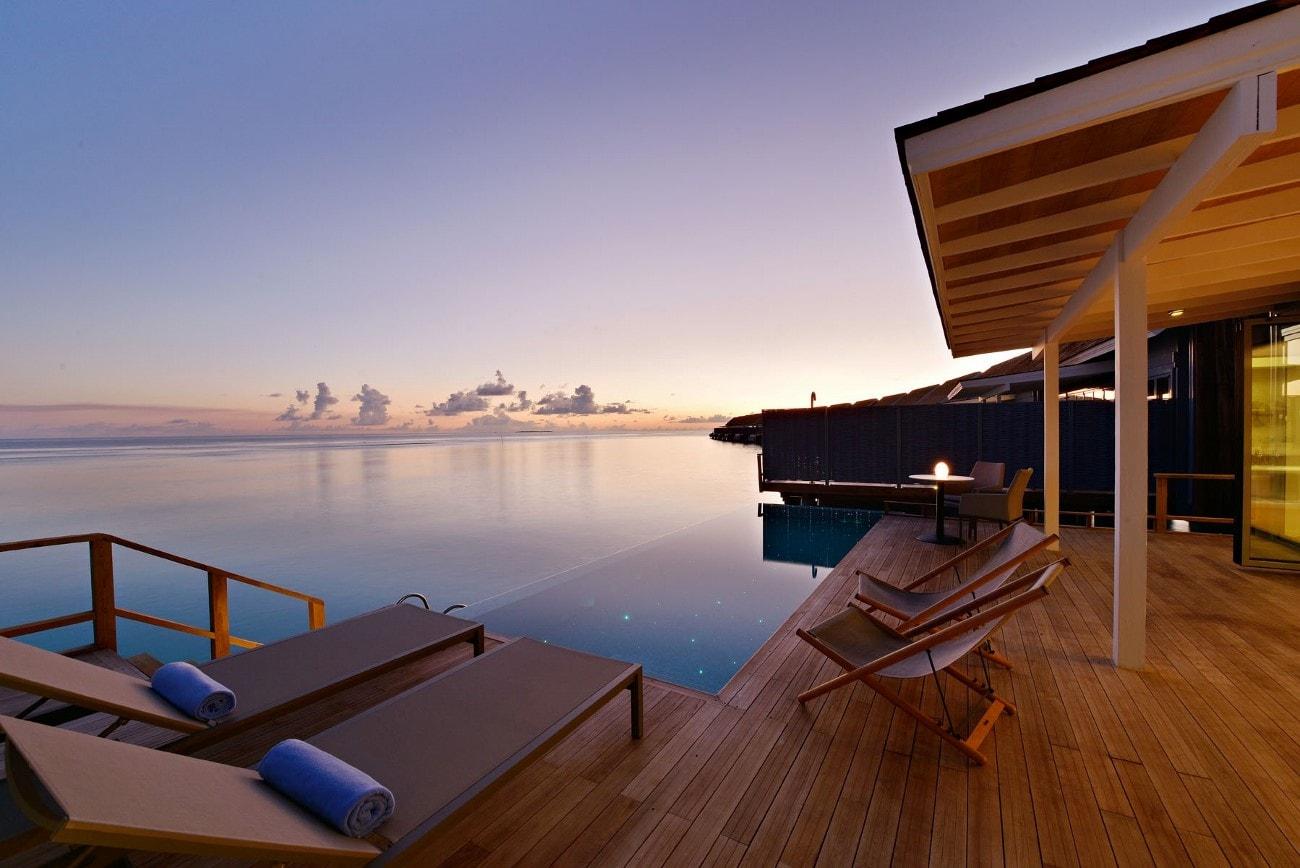Kuramathi Island Resort Water Villa Pictures And Info