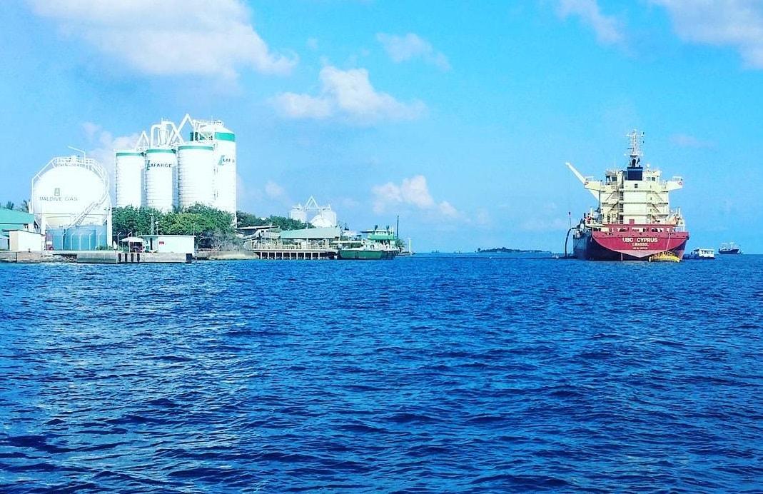 thilafushi sea