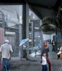 maldives oil rig city