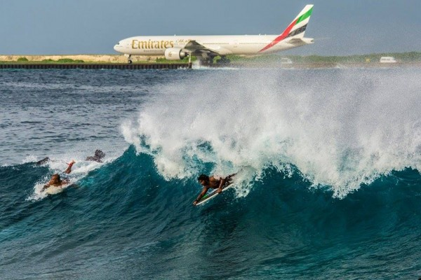 surf point with Emirates airline