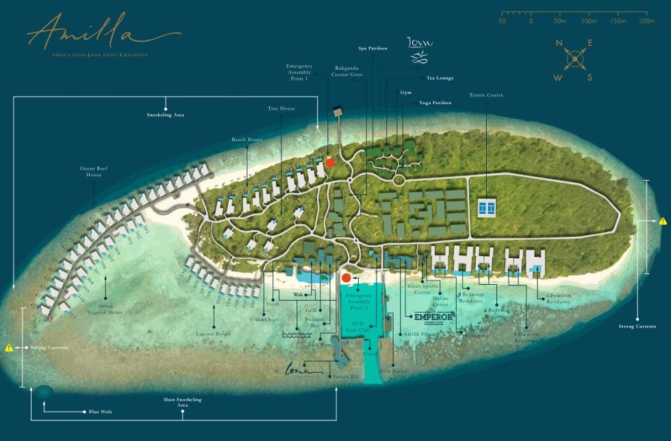 Amilla Fushi Map And Location
