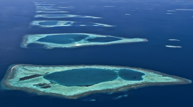 atolls and islands