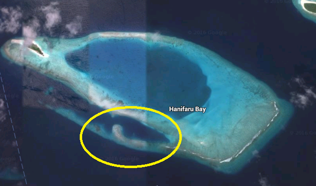 hanifaru bay map