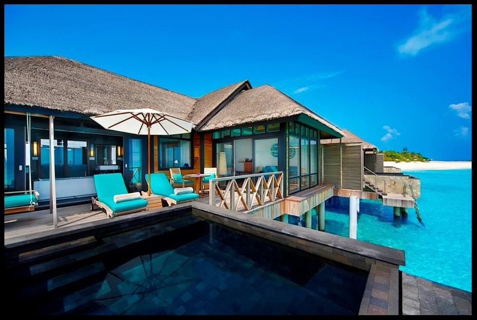 floating breakfast maldives