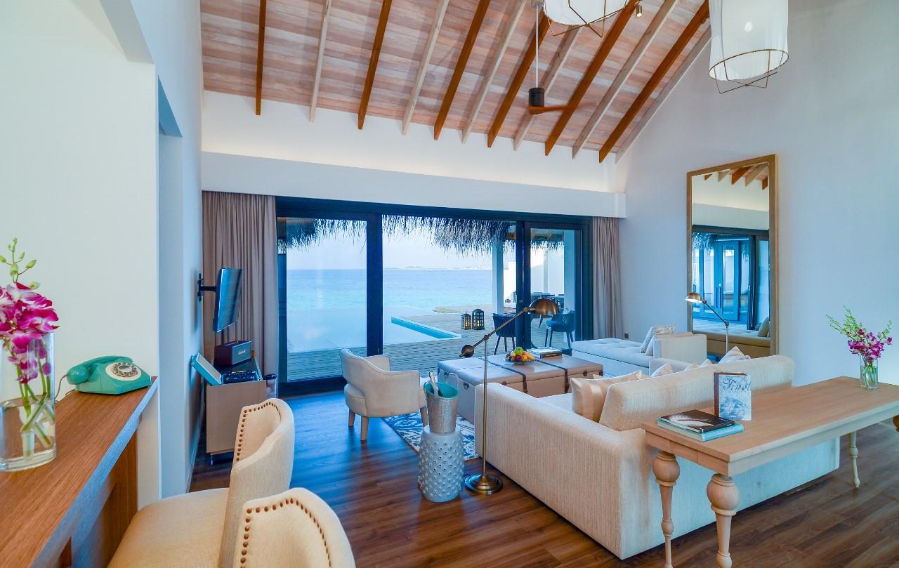 2 bedroom ocean pool villa