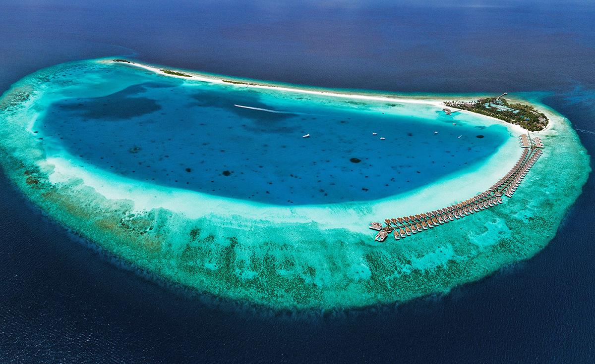 finolhu aerial view