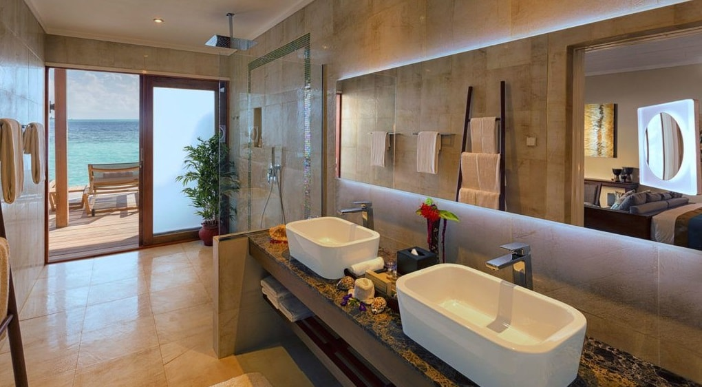 ocean villa bathroom