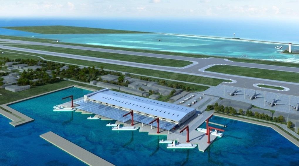 velana airport development