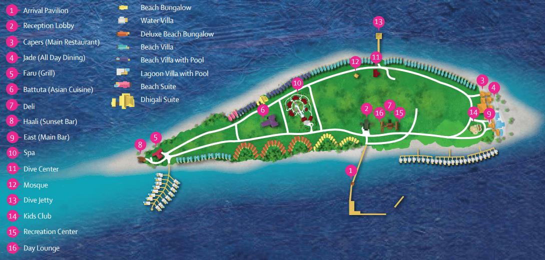 dhigali map