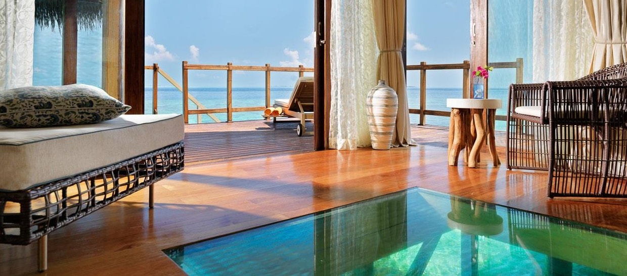 Jumeirah Vittaveli Water Villa With Pool Sunrise