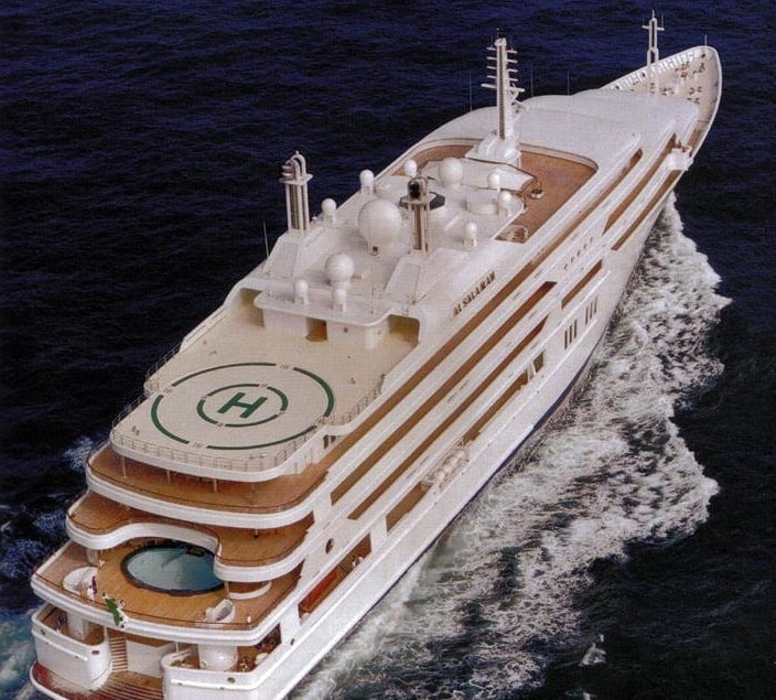 king salman yacht