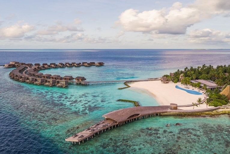 John Jacob Astor Estate The Biggest Water Villa In Maldives