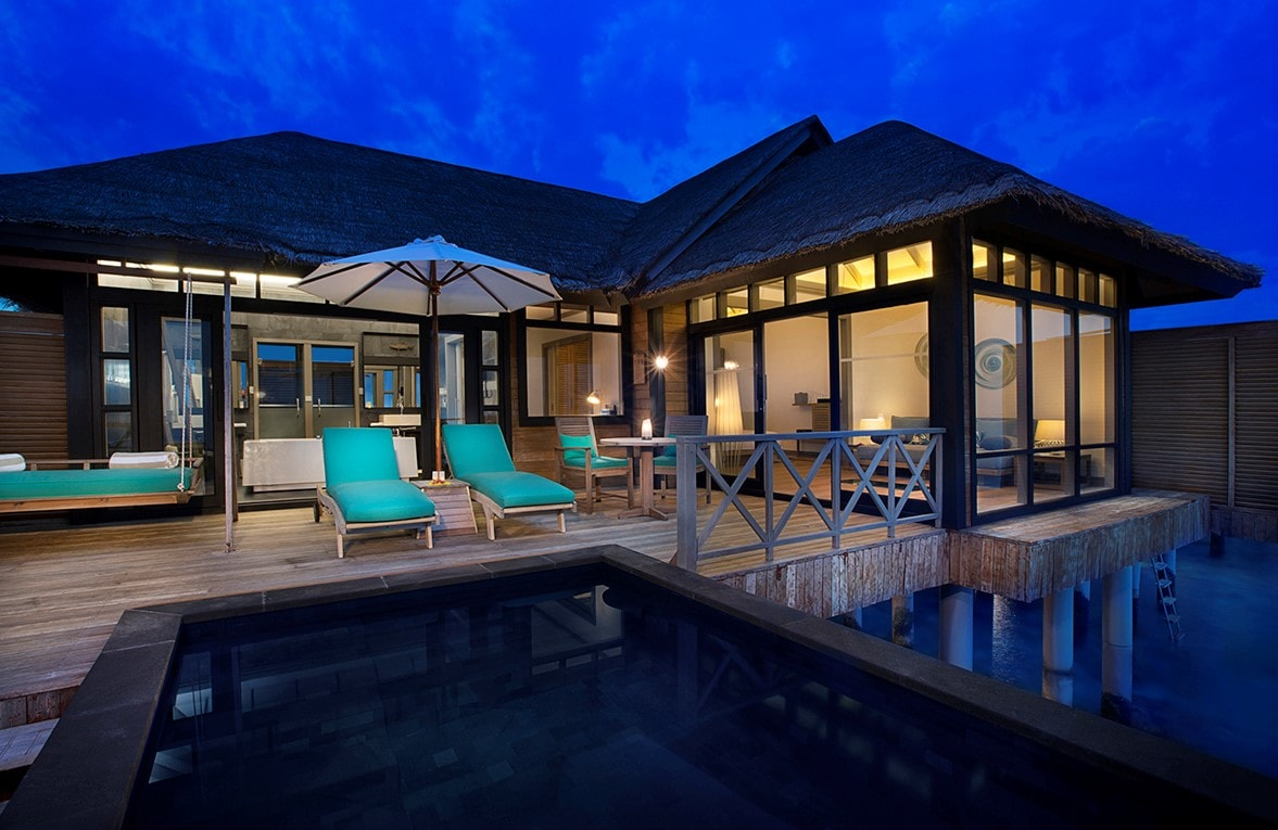 JA Manafaru Sunset Water Villa with Infinity pool