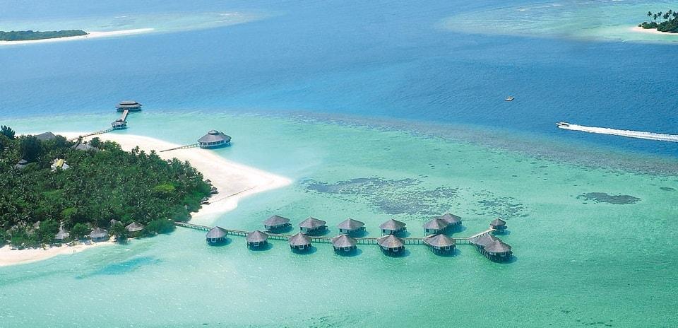kihaa maldives aerial