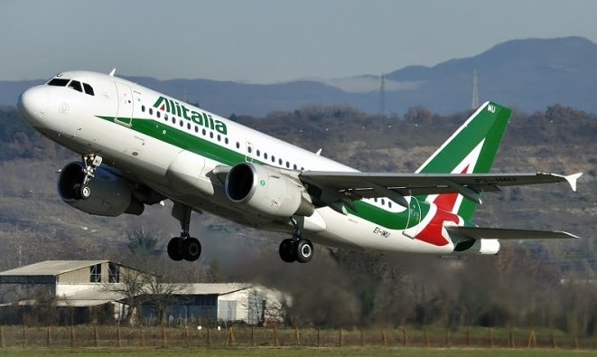 rome-male-flight