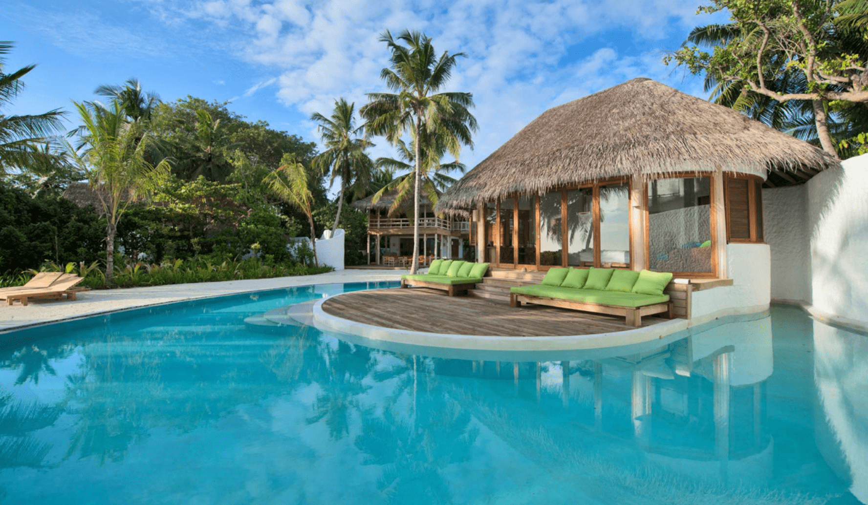 family pool villa soneva maldives