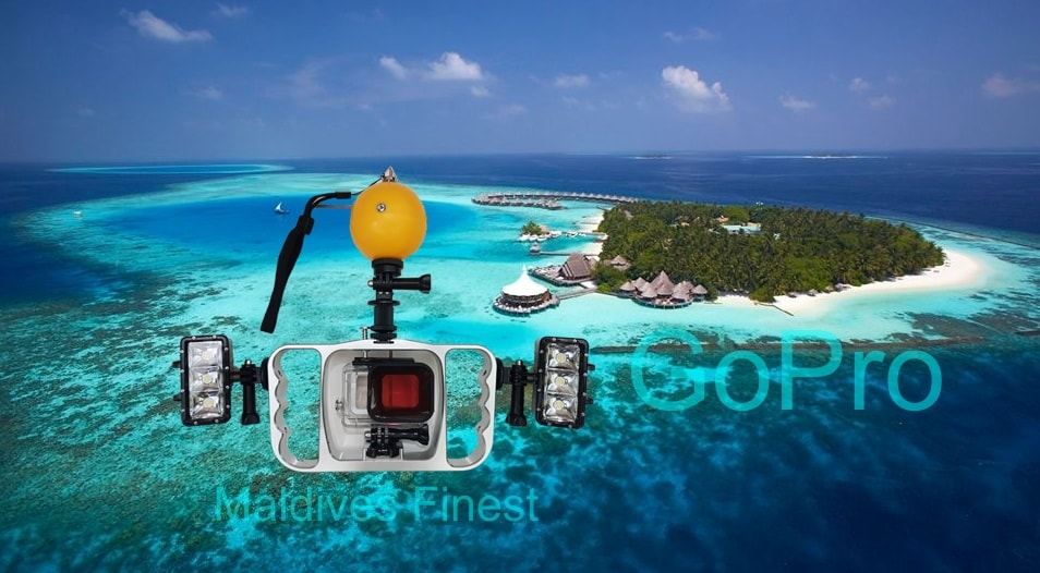 GoPro Hero 5 Underwater Rig Frame For Maldives Photography