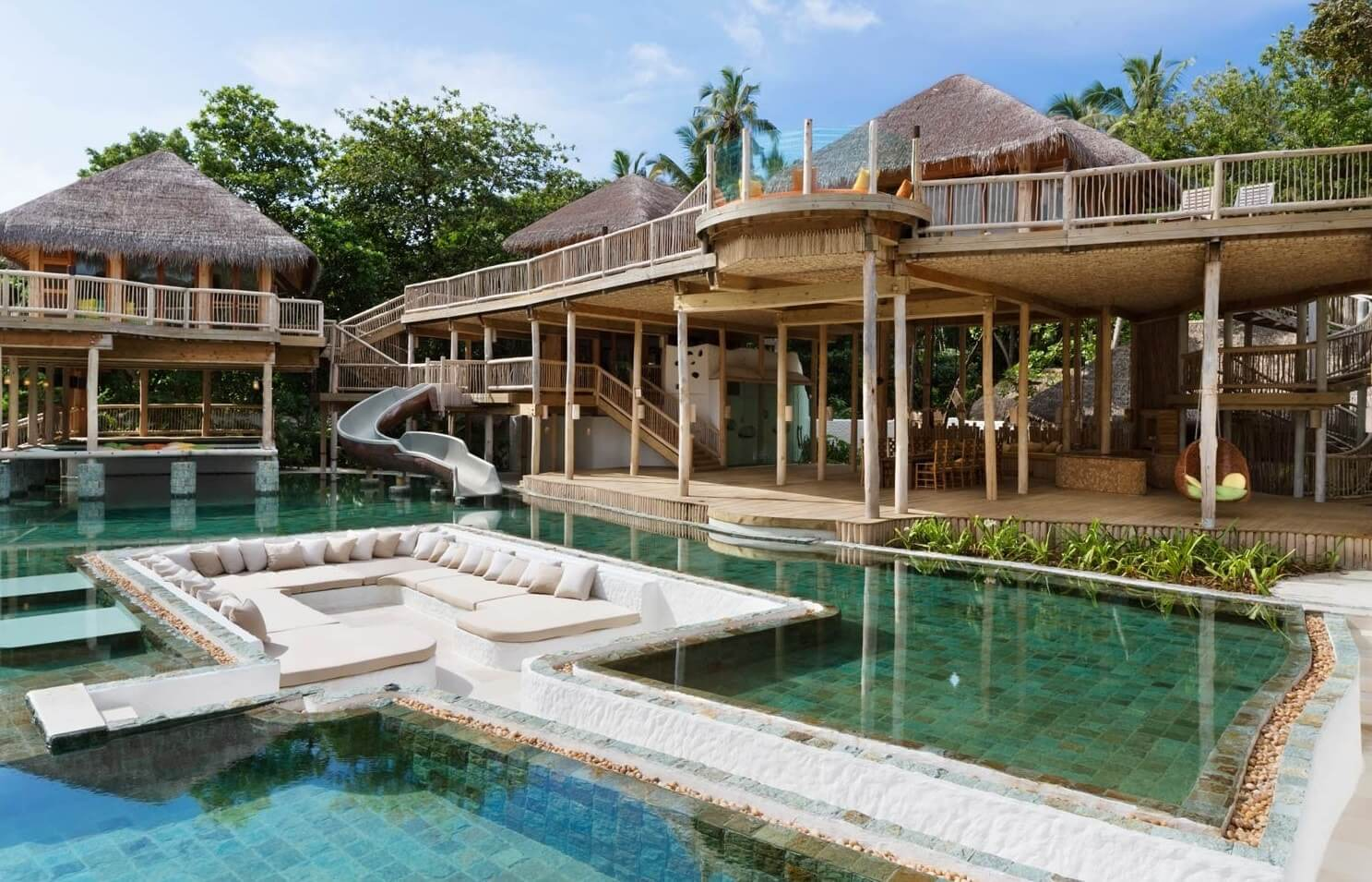 3 Maldives Resorts With Water Slide In The Villa