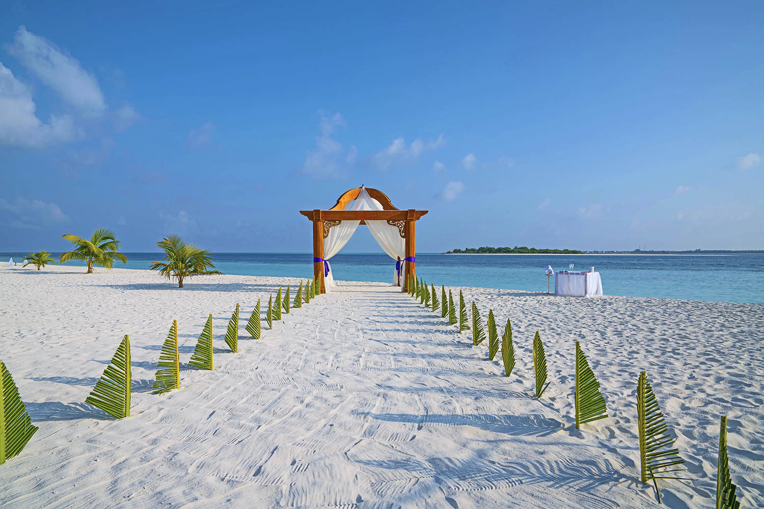 wedding at kihaa maldives