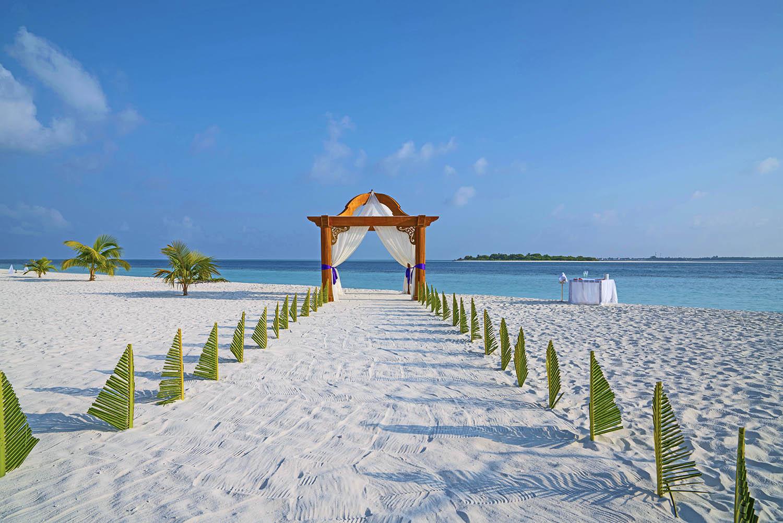 wedding at kihaa maldives