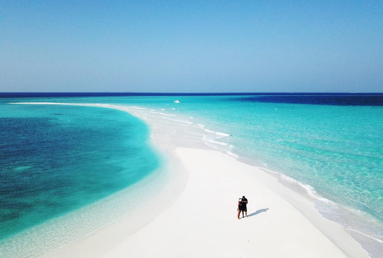 private sandbank maldives