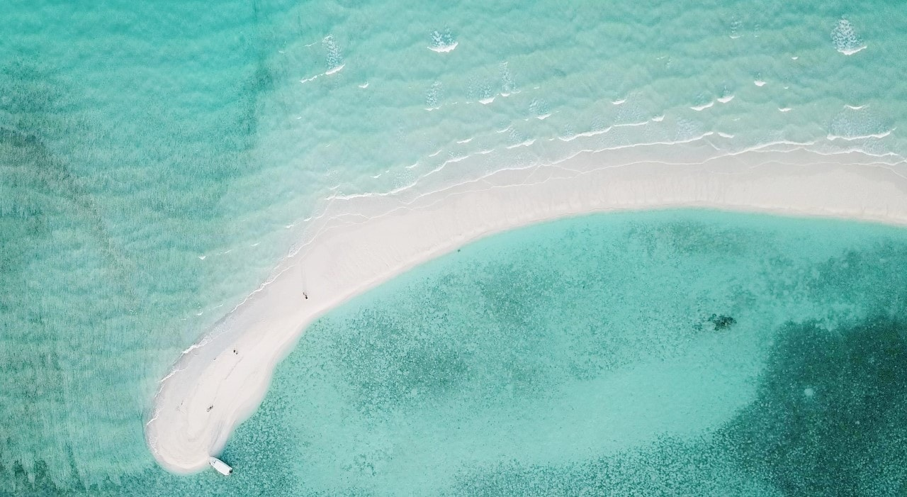sandbank aerial