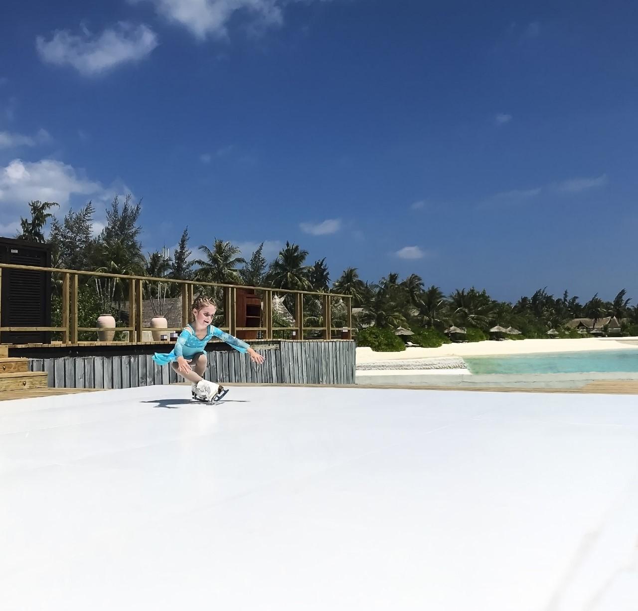 ice rink maldives