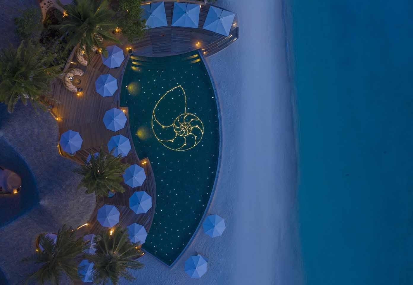 The Nautilus Rising at Naiboli Poolside Bar