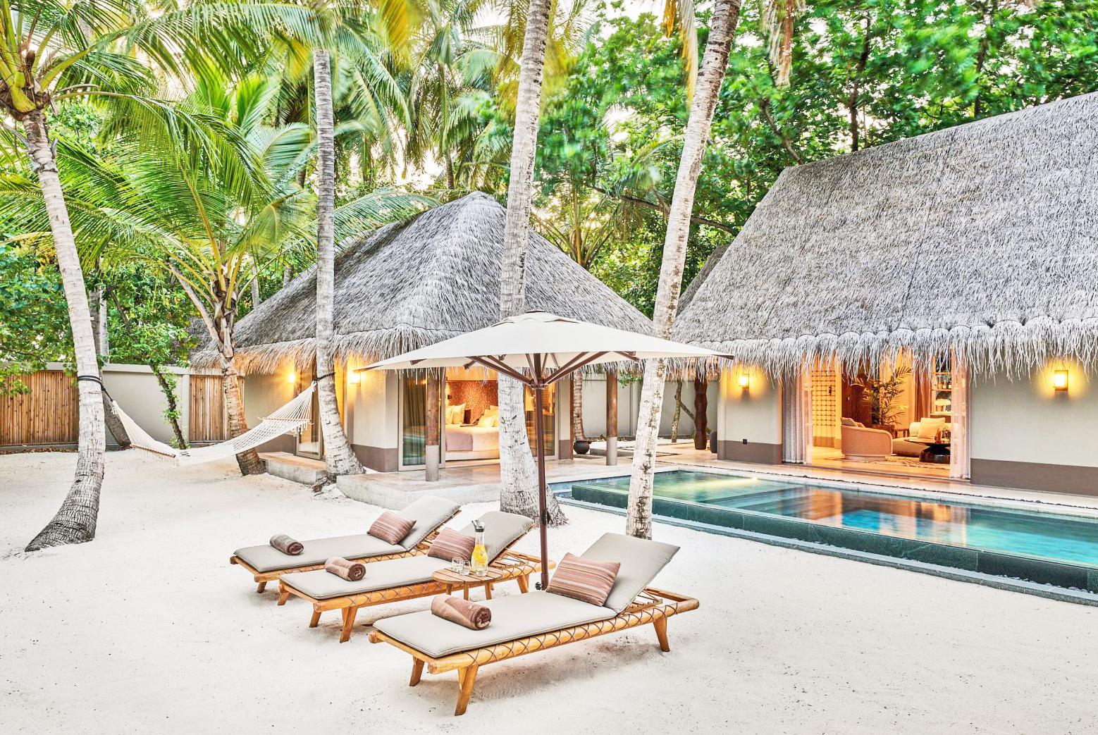 2 bedroom beach villa exterior