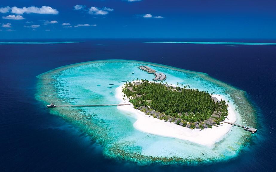 baglioni maldives aerial view