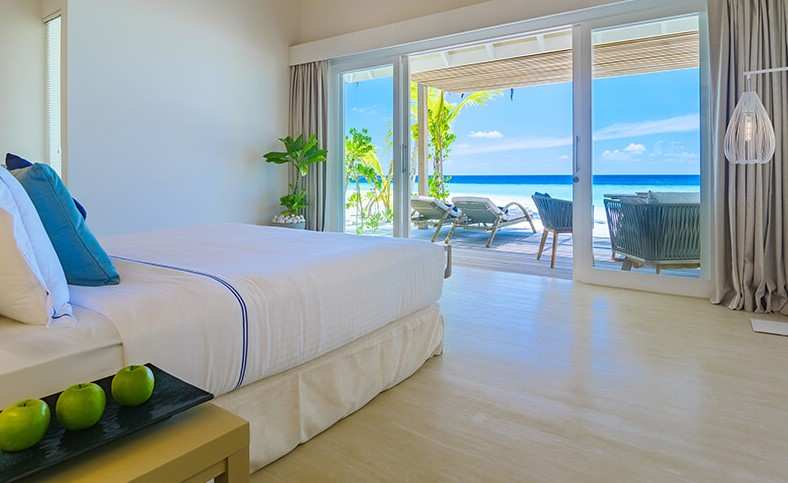 baglioni maldives beach villa