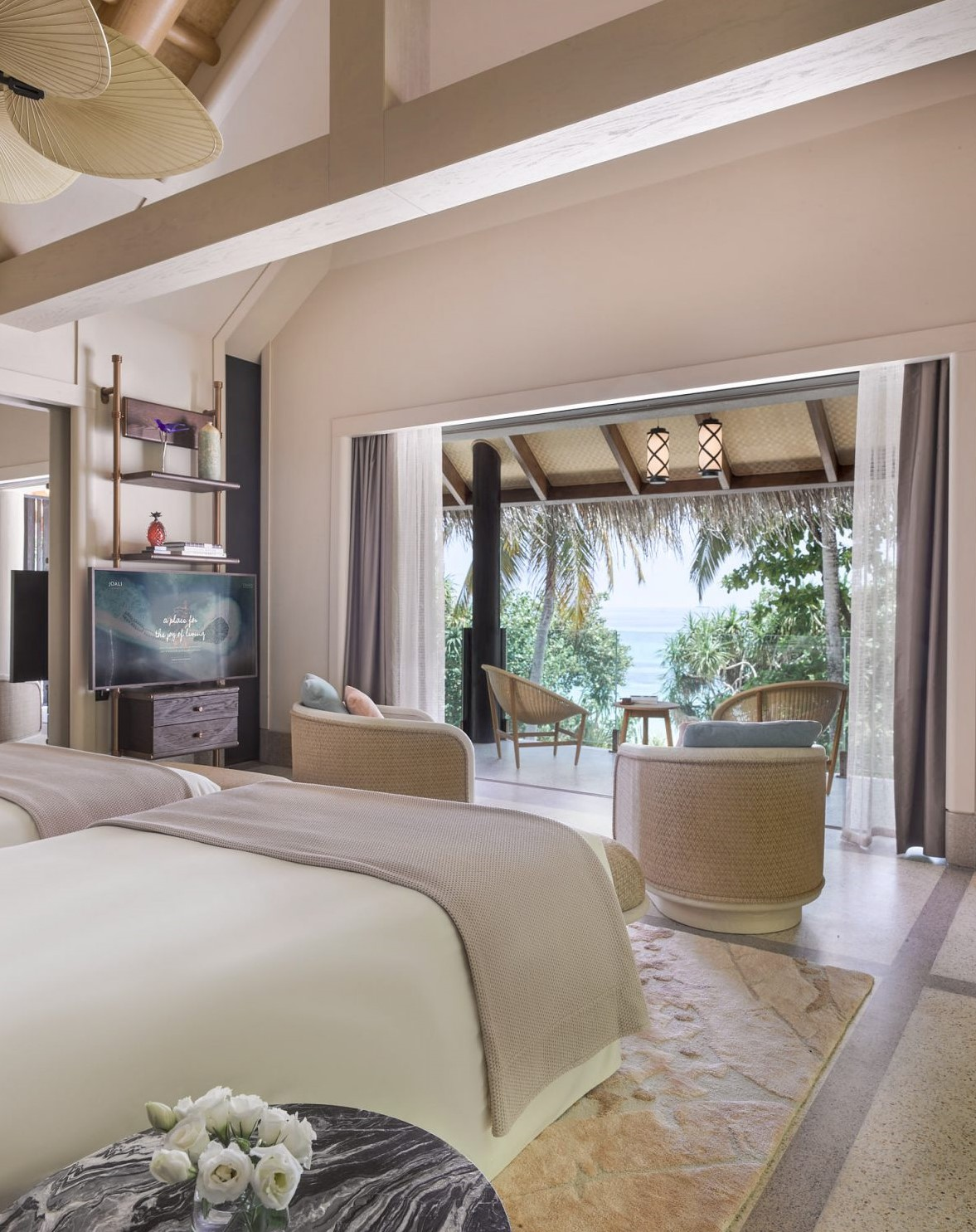 four bedroom beach villa