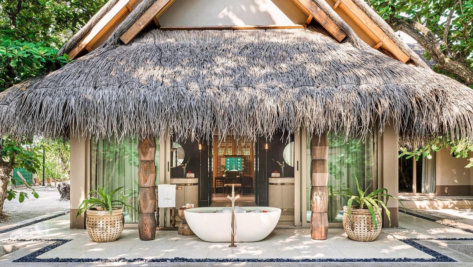 joali maldives luxury beach villa