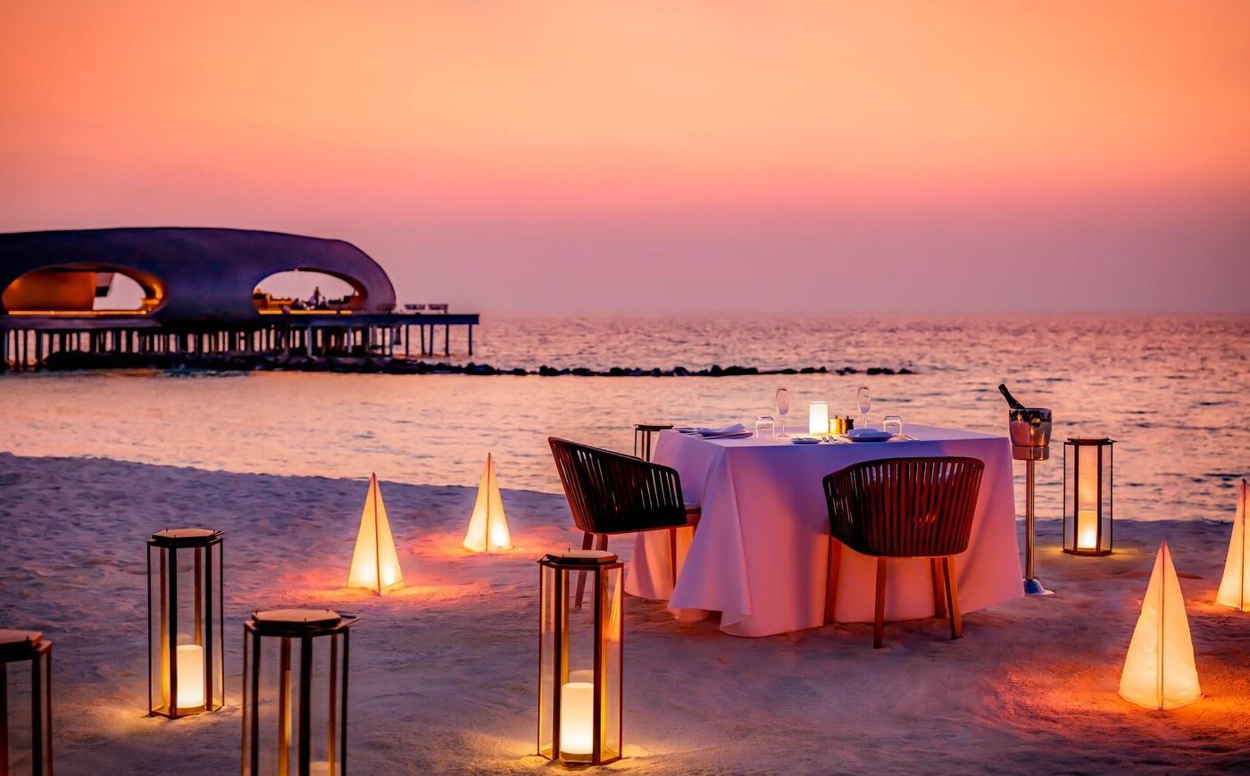 special dinner st regis maldives
