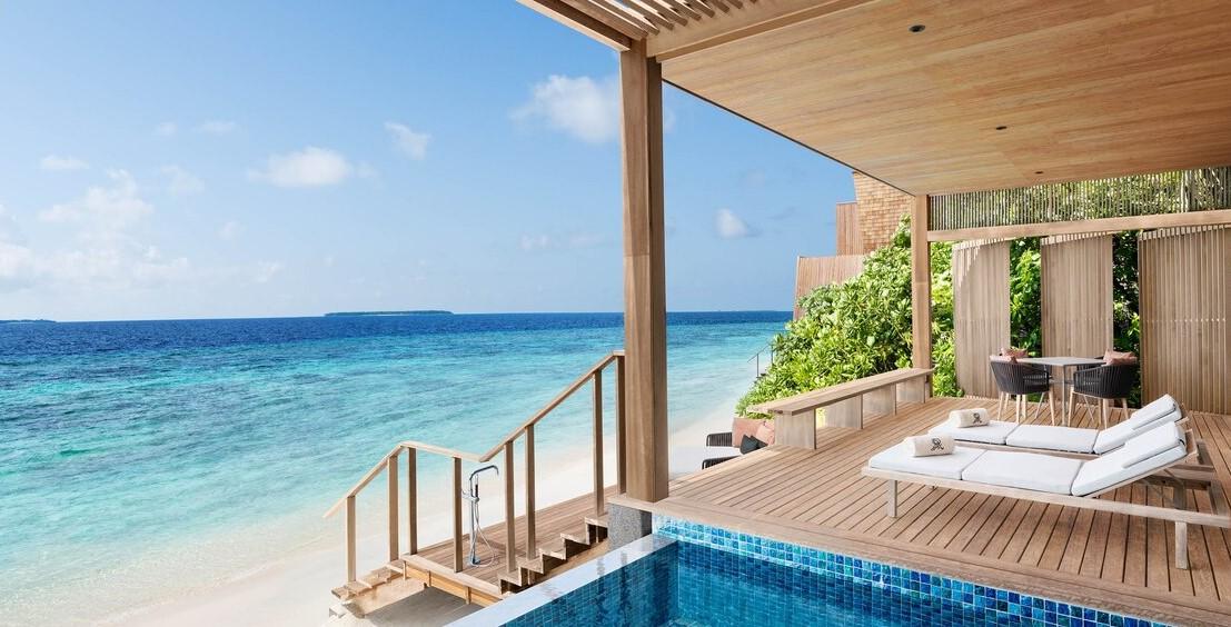 st regis maldives beach villa 2 bedroom