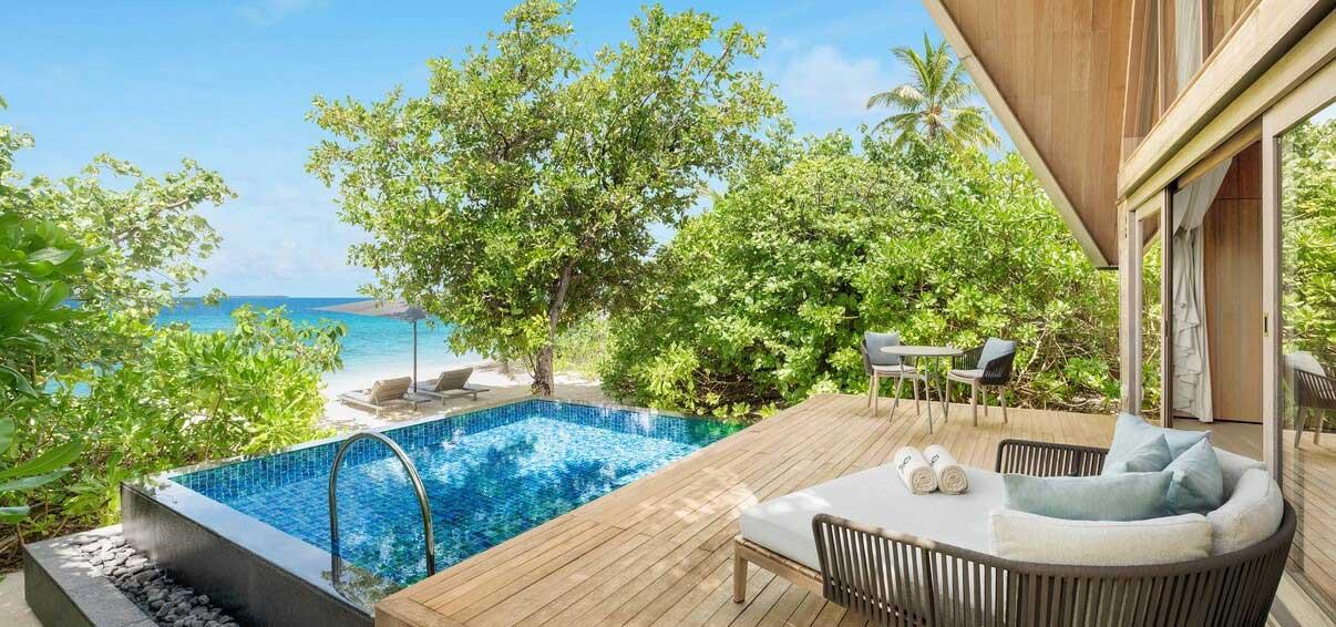 st regis maldives beach villa