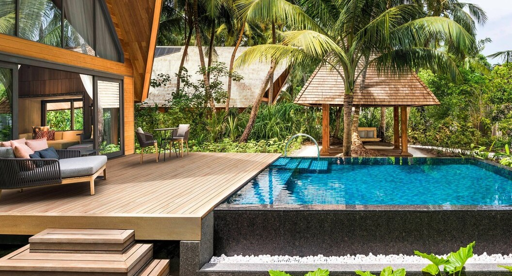 st regis maldives garden villa