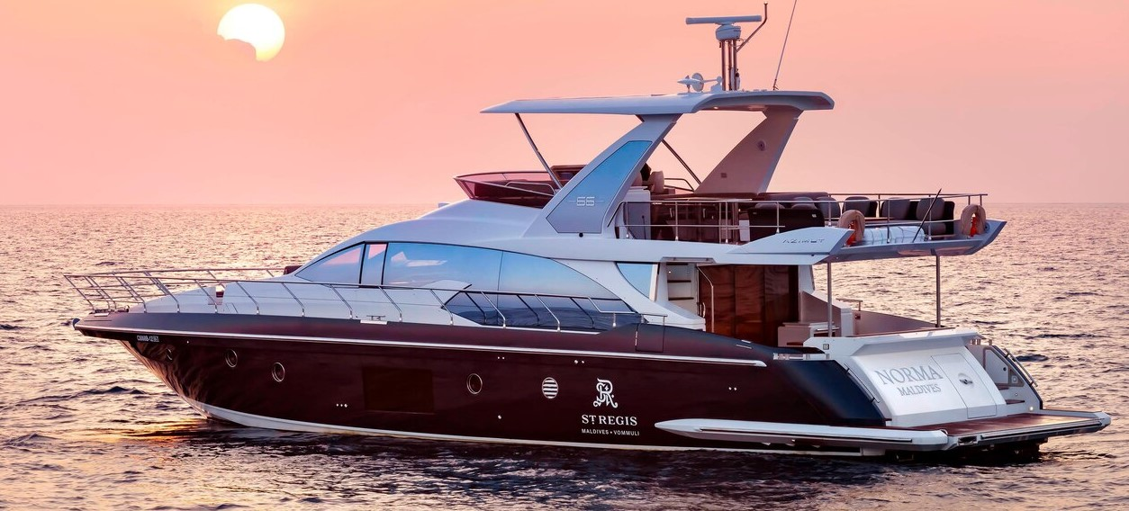 st regis maldives luxury yacht