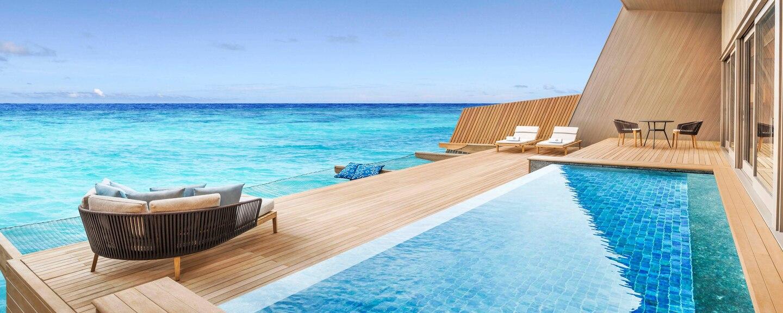 st regis maldives water villa