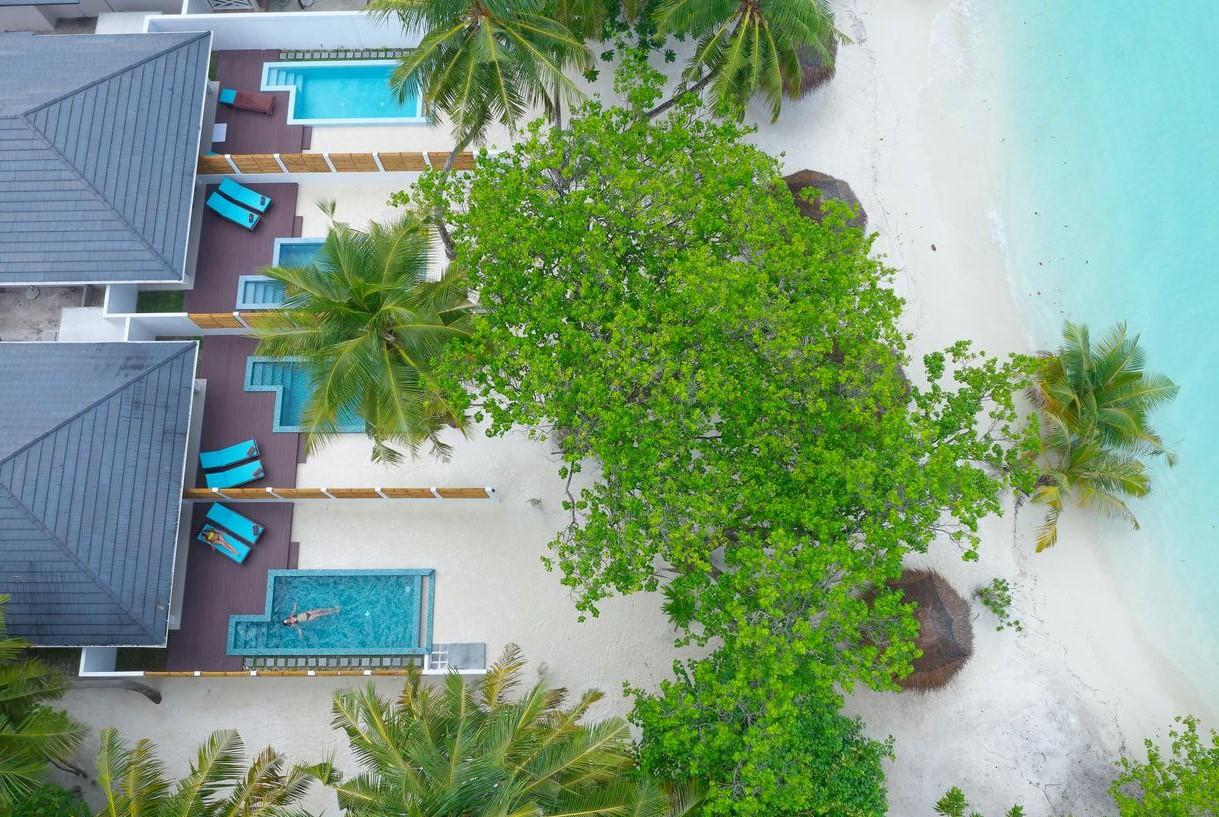sun island villa exterior